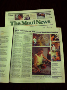 press_Maui News Article 2012